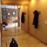 Mirror Doors on Large Closet between bedroom & bath