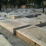 A view of the Armenian graves