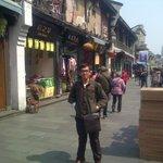 di jalan hefang , hangzhou