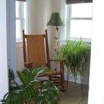 Sitting Room in the German Suite