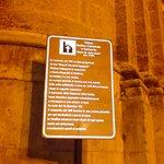 cartello turistico della cattedrale