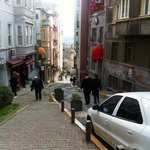 Part of walk to hotel off Istiklal Caddesi