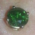 Ed's 1ct green diamond