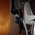 steam wand iron in room