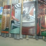 Art in the tasting room