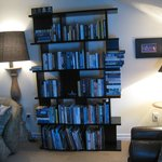 Bookcase in Lounge