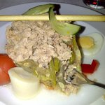 Just for starters a tuna salad in the Oasis Grill