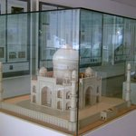 Scale model of the Taj Mahal