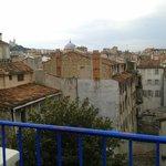 Vue de la terrasse de la chambre Mogador