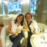 Hall do Hotel Lafayette em Montevideo-Uruguai