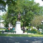 Monument de Sir George-Étienne Cartier, l'un des Pères de la Confédération