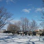 Le Parc-Montmorency en hiver