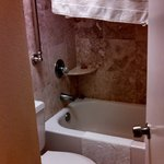 Tiny shower/toilet room