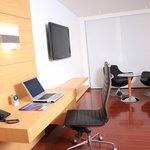 Zona de trabajo dentro de la habitaciòn