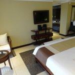 Hotel room on last night