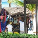 Mexican Vendor on the beach