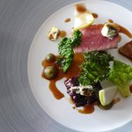 Belted Galloway Beef cooked 2 ways