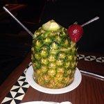 The drinks @ 'Ohana in the Polynesian