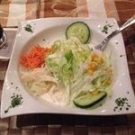 Greek salad. Soooo tasty.