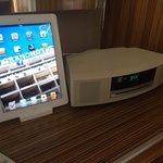 Un iPad, la chaîne Bose