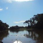 trayecto por el rio
