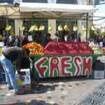 Fruit stall in Monastraki Square.