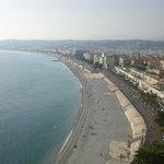 Foto Panorâmica da Praia de Nice ( não do hotel)