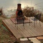 Firepit/deck