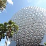 globo símbolo do parque