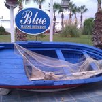 Blue pool restaurant