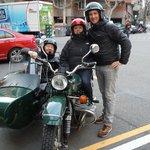 Avec notre guide Matthieu...