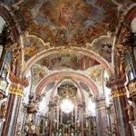 The church main altar