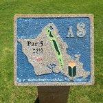 Golf Course - Map on each hole