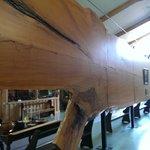 World's largest kauri slab