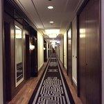 the Langham corridor