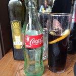 2dl soft drink into a 2,5dl glass
