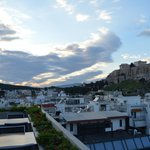 View from the Athens Gate Restaurant terrace