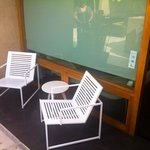Outside patio Malibu Rm#11