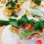 fish tacos now on appetizer menu.