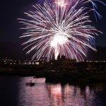 July Fourth Fireworks, Bass Lake Ca