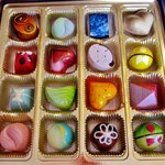 16 chocolates of beauty and delight!