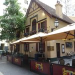 Historic Mitre Tavern on Bank Place