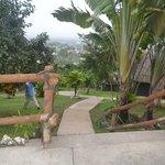 path to cabana