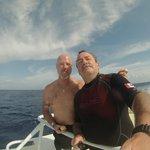 La satisfaction de plongeurs