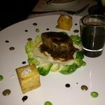 ANGUS FILET MIGNON CRUSTED WITH GORGONZOLA CHEESE