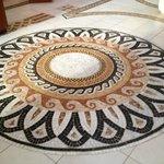 Great tile work in the Mezzanine