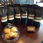 We have our own special blend of coffee for you to take home.