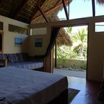 View from inside the Palapita/Retreat