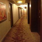 Hallway to room