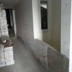 Another view of floor under renovation